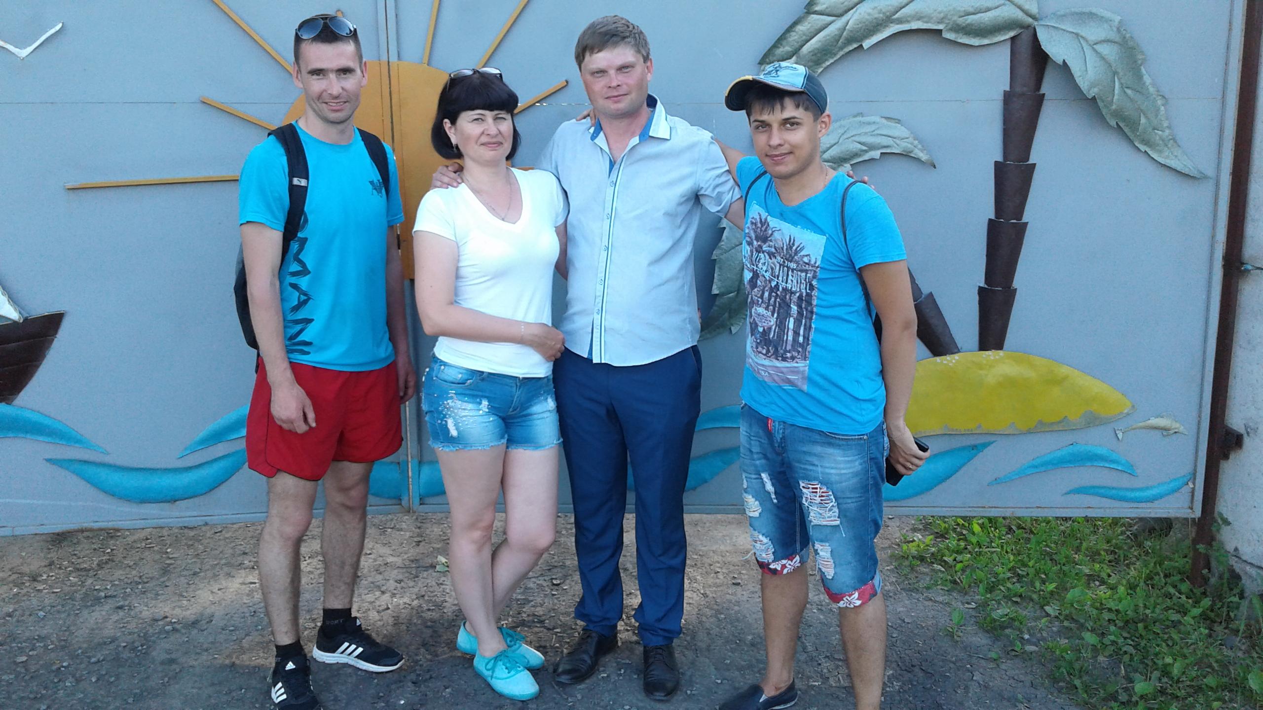 Молодые педагоги Тюкалинского МР - участники проекта «Игры старого двора»
